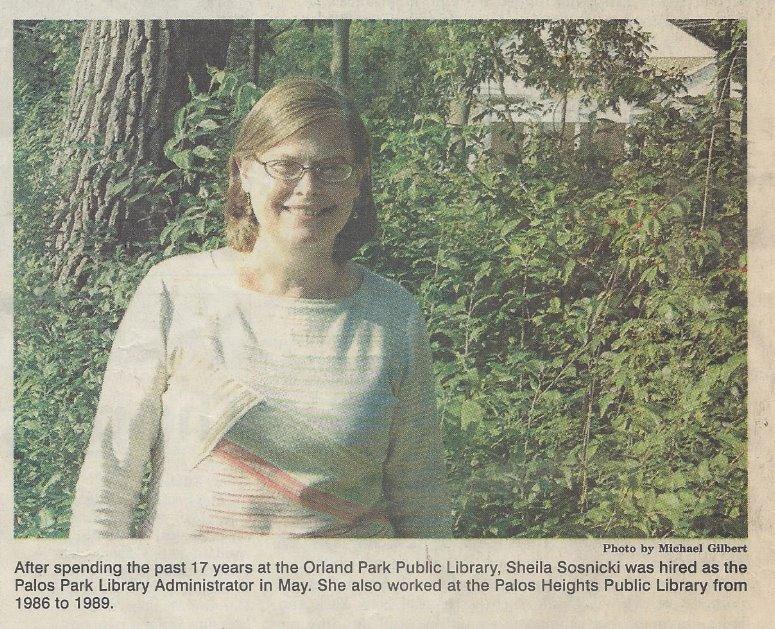 Palos Park Library - History