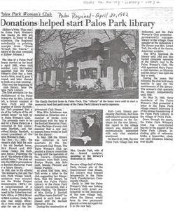 Palos Regional (April 22, 1982)