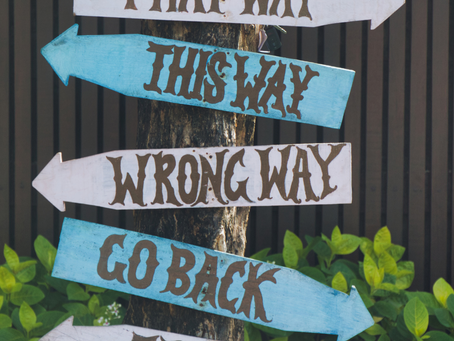 Are you going the right way?