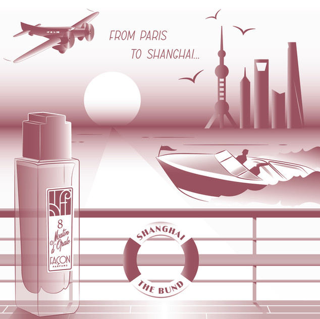 AIRCRAFT SHANGHAI PUDONG BUND SUNRISE PE