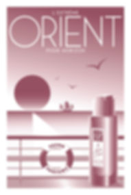 POSTER EXTREME ORIENT SUNRISE FRAGRANCE