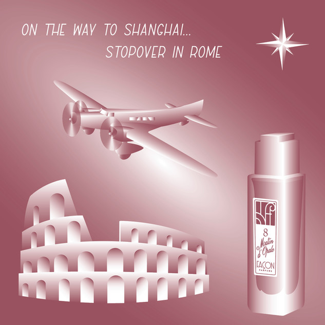 PARIS ROME SHANGHAI FRAGRANCE PERFUME FA
