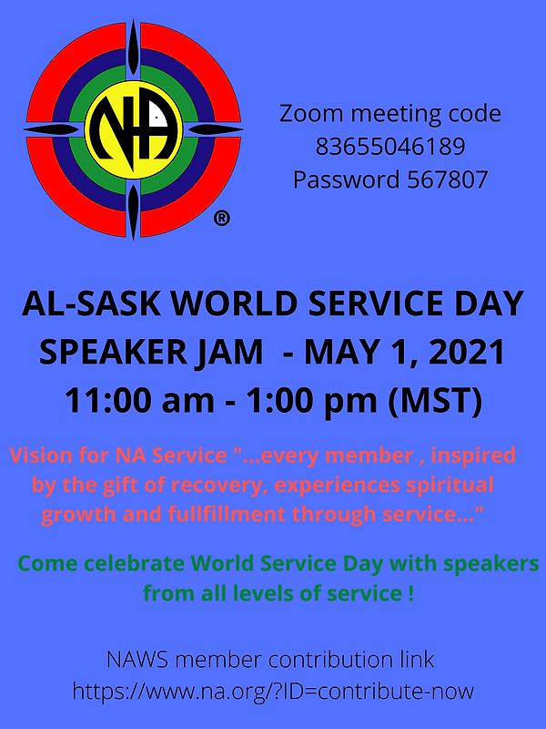 ALSASK WORLD SERVICE DAY SPEAKER JAM - M