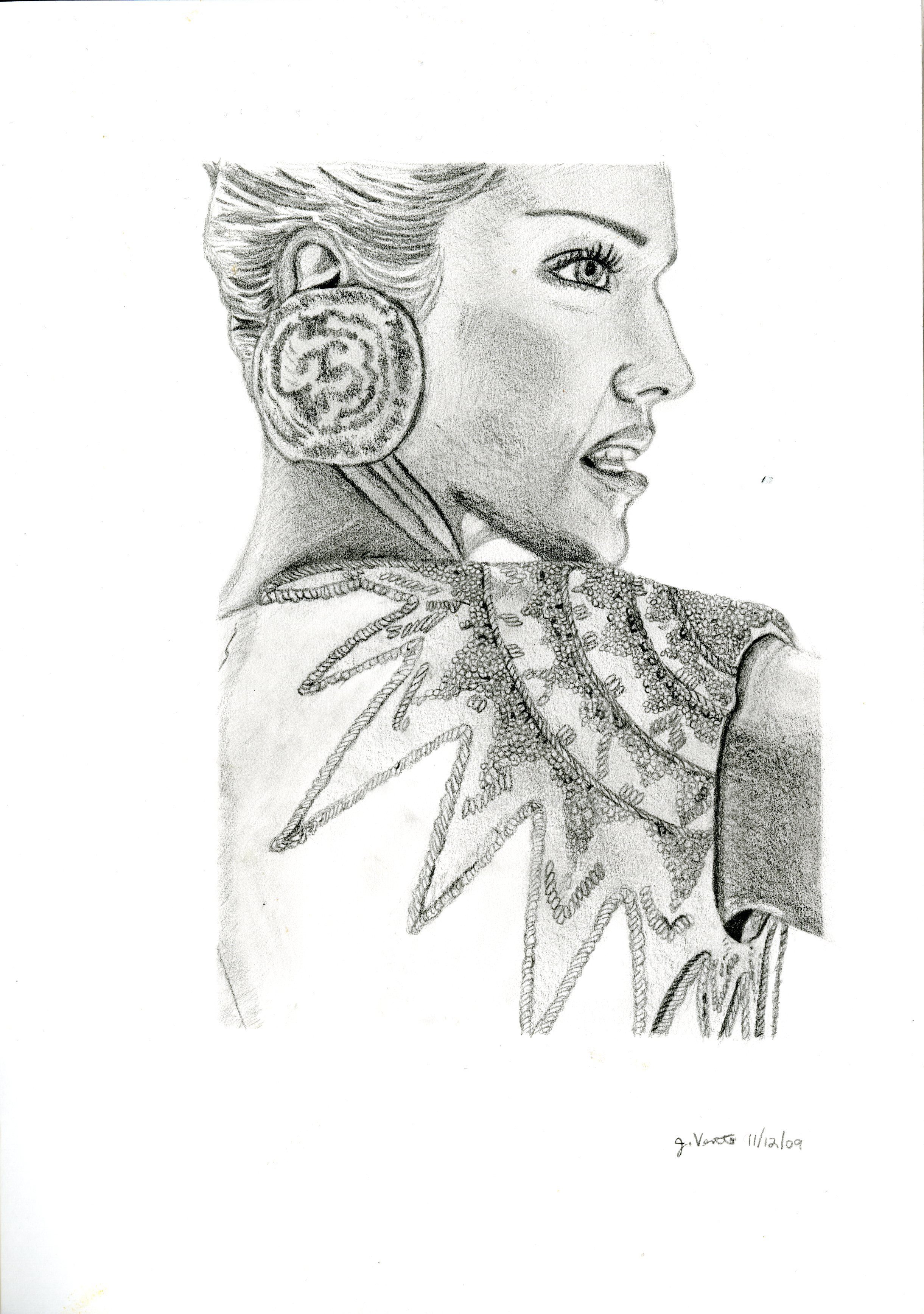 Fashion Drawing #3