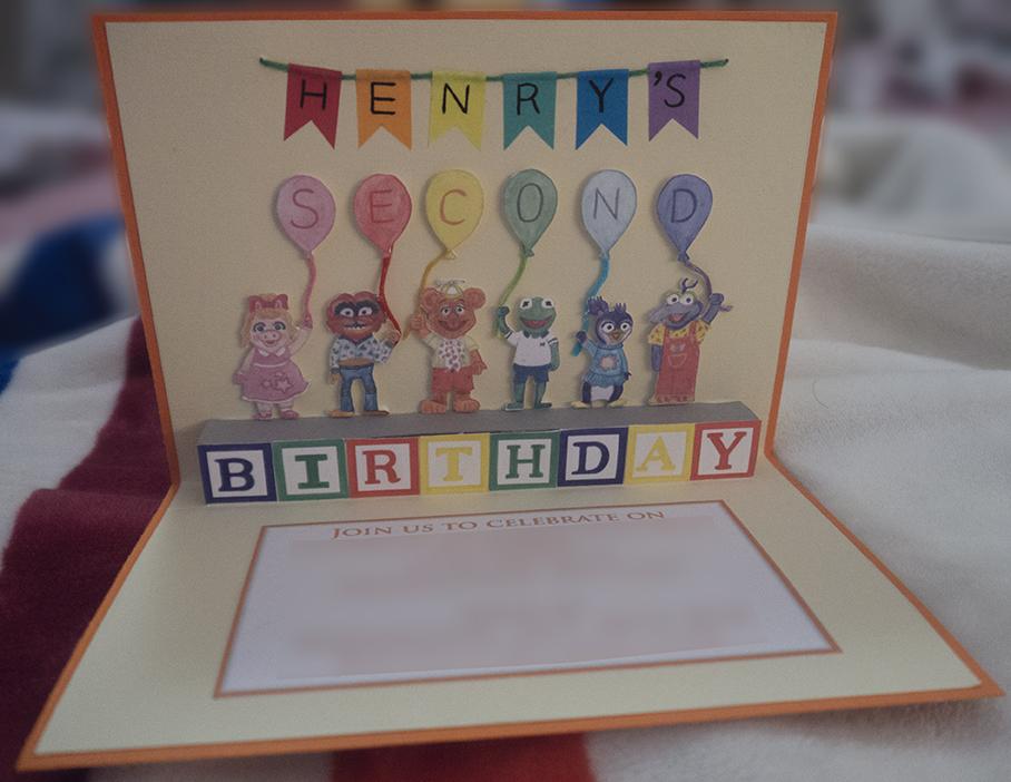 Muppet Babies Birthday Invite