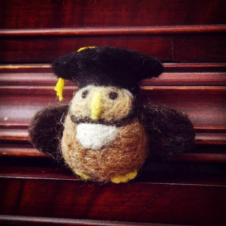 Prestigious graduating Owl