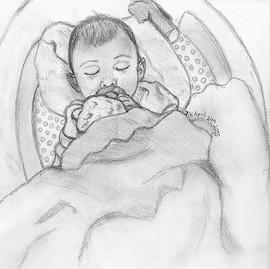 First Baby Portrait