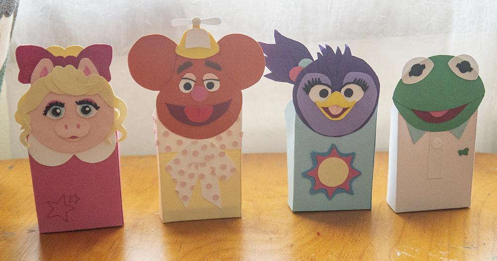 Muppet Babies Favor Boxes