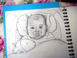 Third Baby portrait