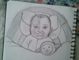 Second Baby Portrait