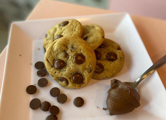 Mini Cookies congelado de Nutella
