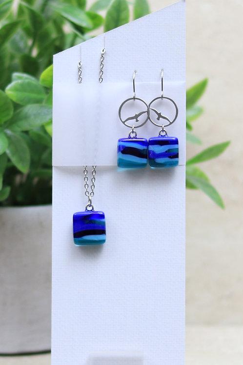 Shades of Blue and Aqua