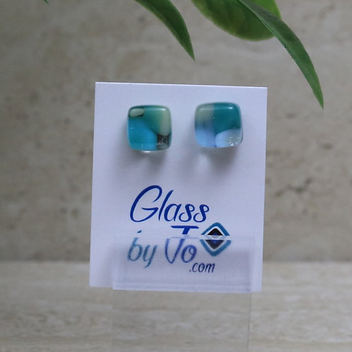 Blue and Green Pebble Collection
