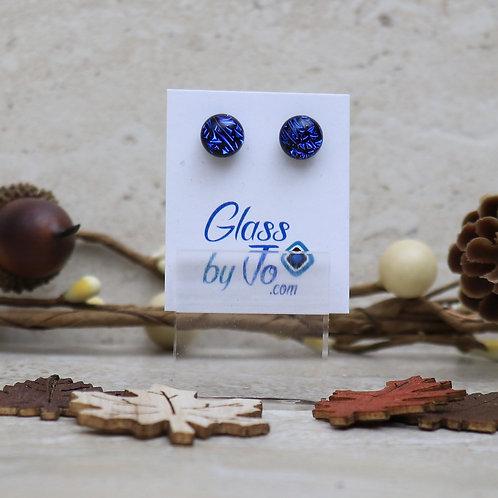 Small Royal Blue Dichroic