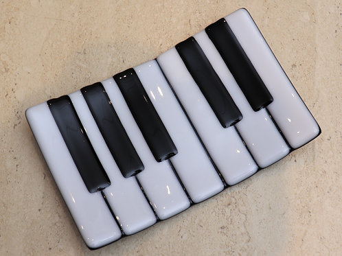 Piano soap dish