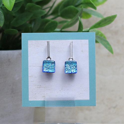 Aqua Blue Dichroic