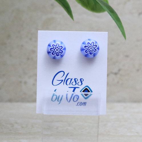 Periwinkle Blue Millefiori