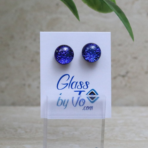 Small Royal Blue Dichroic