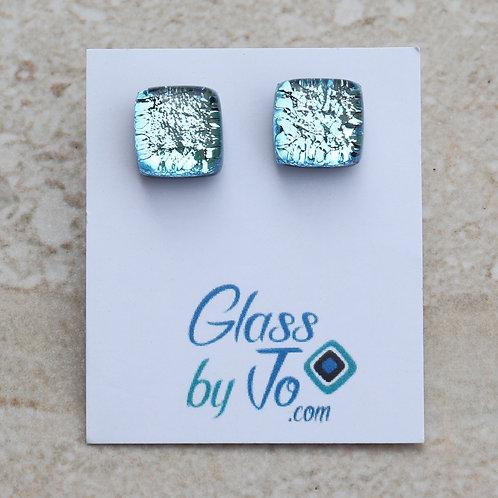 Silver/Blue Dichroic