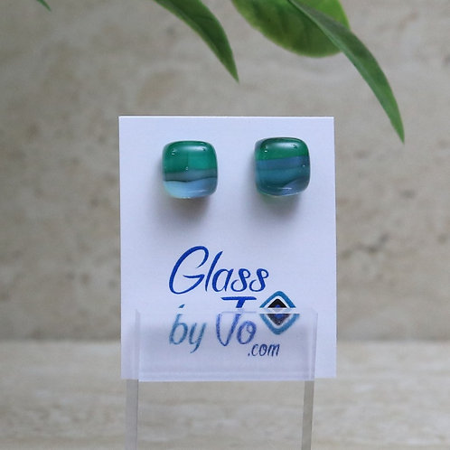 Green, Blue and Gray Pebble Collection