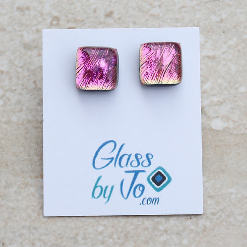 Pink Dichroic Square
