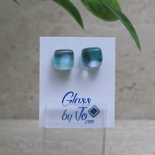 Blue, Green and Gray Pebble Collection