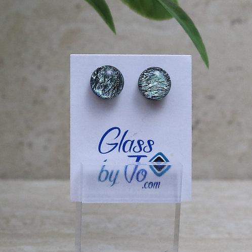 Silver / Green Dichroic