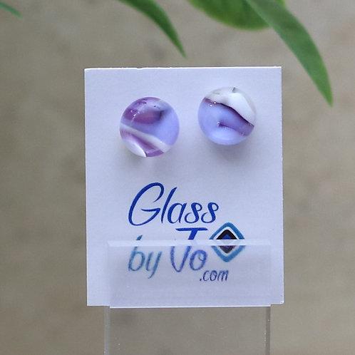 Purple and Vanilla Pebble Collection