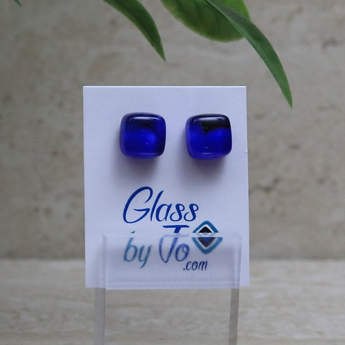 Cobalt and Black Pebble Collection