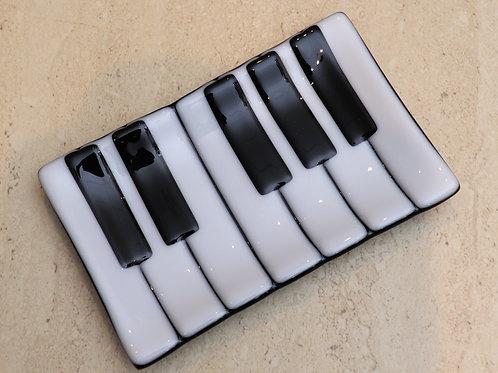 Piano soap dish
