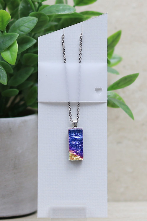 Purple, Pink and Yellow Dichroic