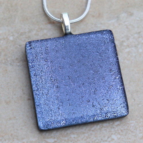 Grey / Lavendar Dichroic