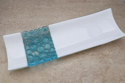 Bubbles Long Plate