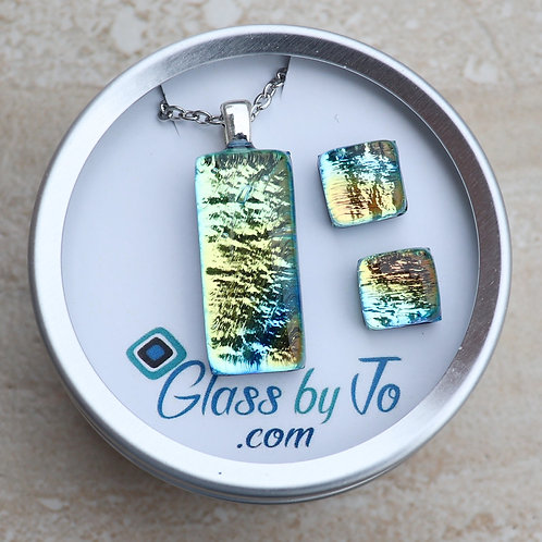 Yellow and Blue Dichroic