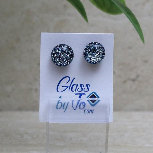 Silver / Blue Dichroic
