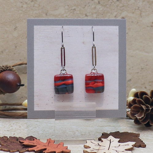 Red and Grey Pebble Collection