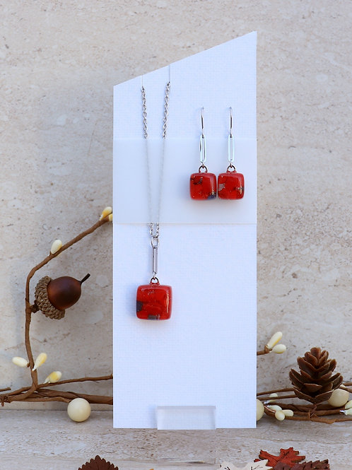 Red and Grey Organic Collection
