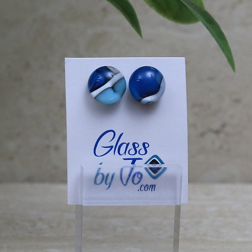 Blue and Vanilla Pebble Collection