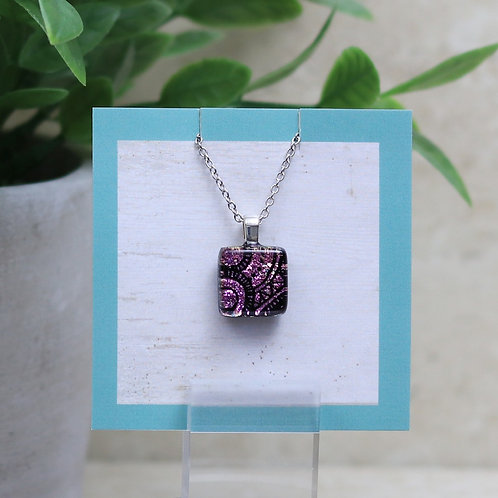 Black and Pink Dichroic