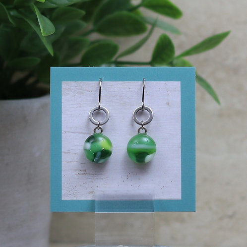Green, Lime and Vanilla Pebble Collection