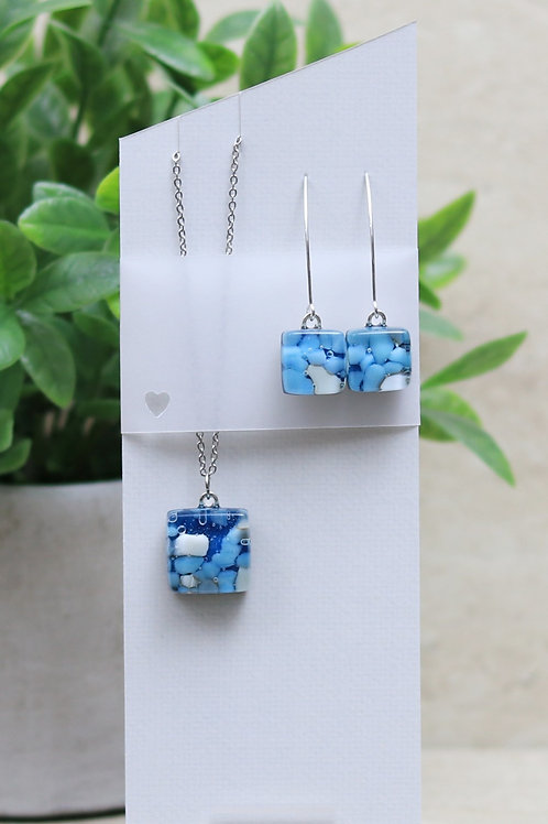 Blue, Aqua and Vanilla Organic Collection