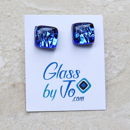 Blue Dichroic Square