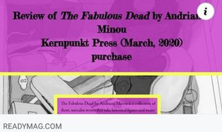 Fabulous Dead Review @readymag
