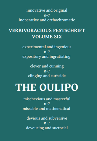 Oulipo by Verbivoracious Press