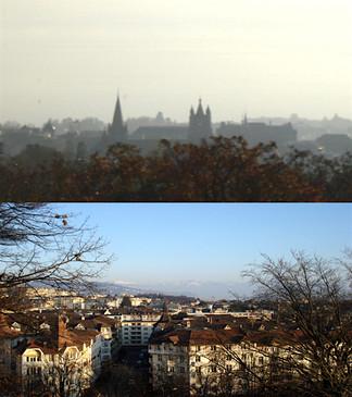 Panoramiques de la ville