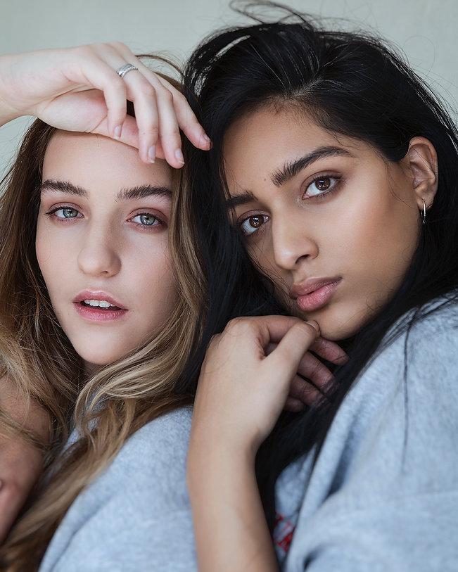 Joann & Anjali @ Curvy Super Models