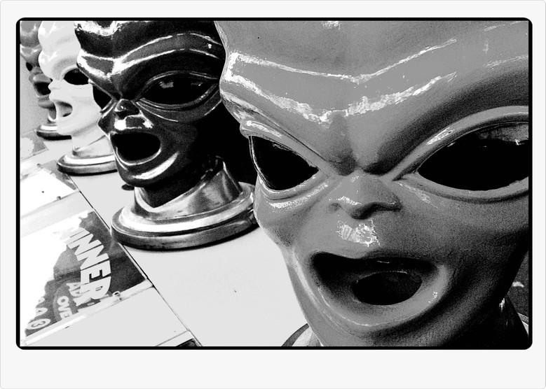 Martian Barbershop Quartet