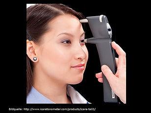 Augendruckmessung, Augeninnendruckmessung, Tonometr