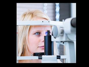 Augenuntersuchung, Kontrolle des vorderen Augenabschnittes, Spaltlampenmikroskop, Spaltlampe