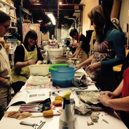 Creativity, Clay, Birth and Motherhood